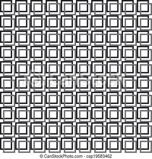 Quadrat Transparent Zaun Doppelganger Abstrakt Dtructure