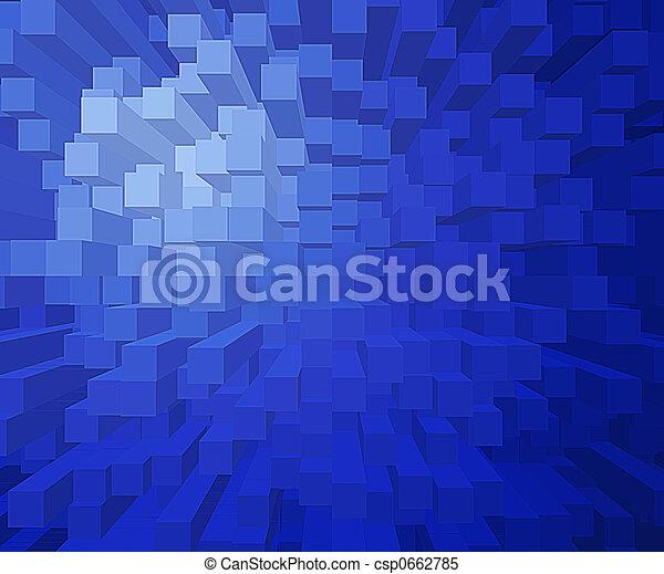quadrato, blocchi - csp0662785