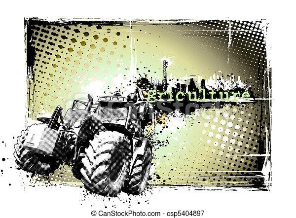 quadro, agricultura - csp5404897