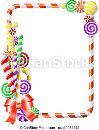 quadro, candies., coloridos - csp10074412