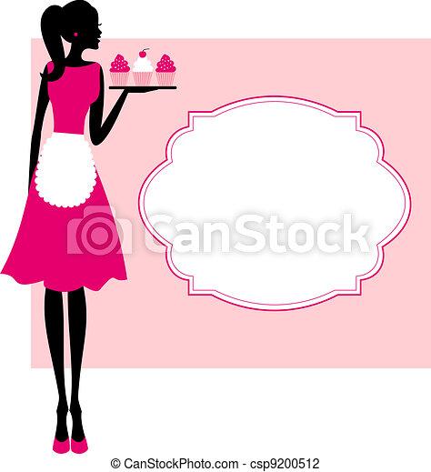 quadro, cupcakes - csp9200512