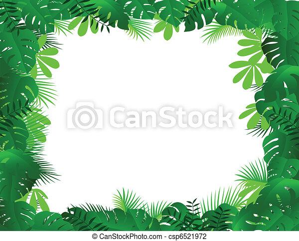 quadro, floresta - csp6521972