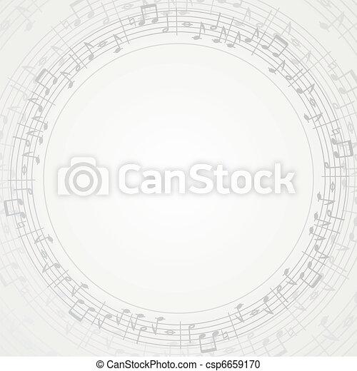 quadro, música - csp6659170