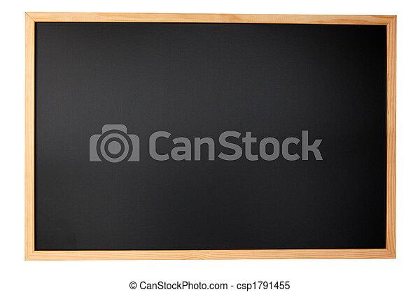 quadro-negro, vazio - csp1791455
