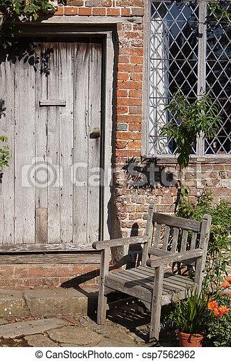 Quaint Doorway - csp7562962