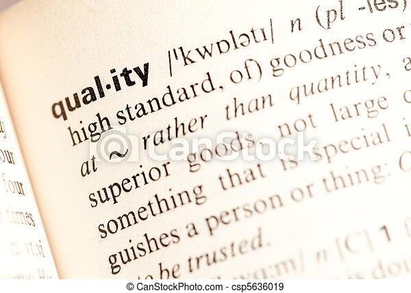qualidade, def - csp5636019
