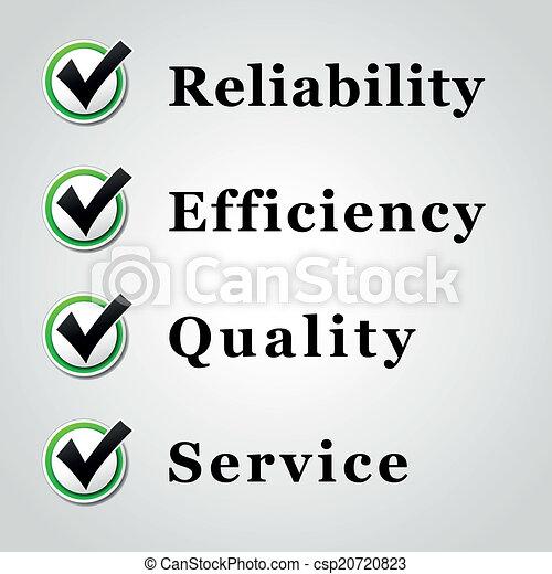 qualidade, serviço - csp20720823