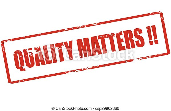 Quality matters - csp29902860