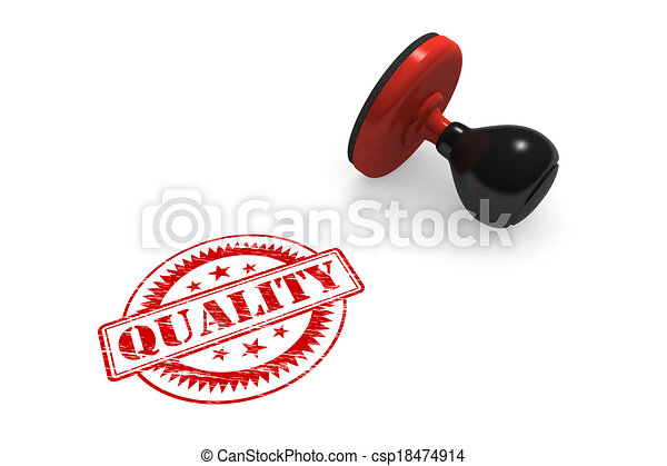 Quality Rubber Stamp - csp18474914