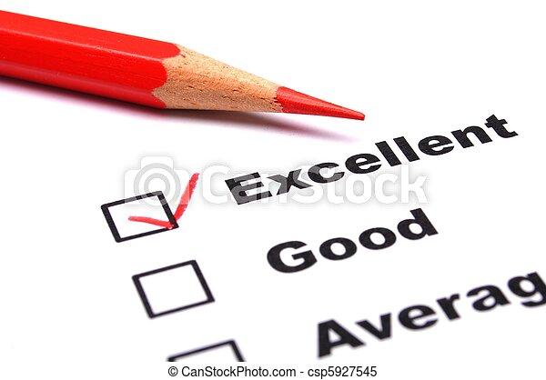 quality survey - csp5927545