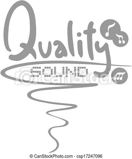 Qualty sound - csp17247096