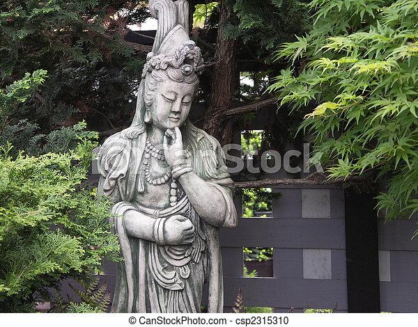 Quan Yin Statue   Csp2315310