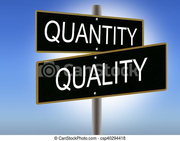 Qualität Und Quantität
