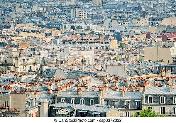 Quarter of Montmartre - csp8372832