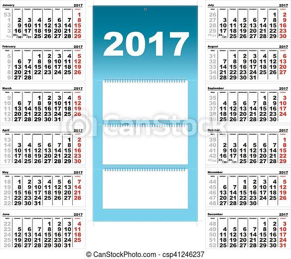 quarterly 2017 calendar