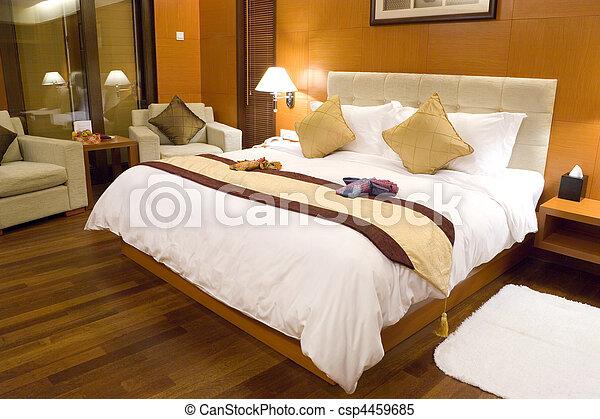quarto hotel - csp4459685