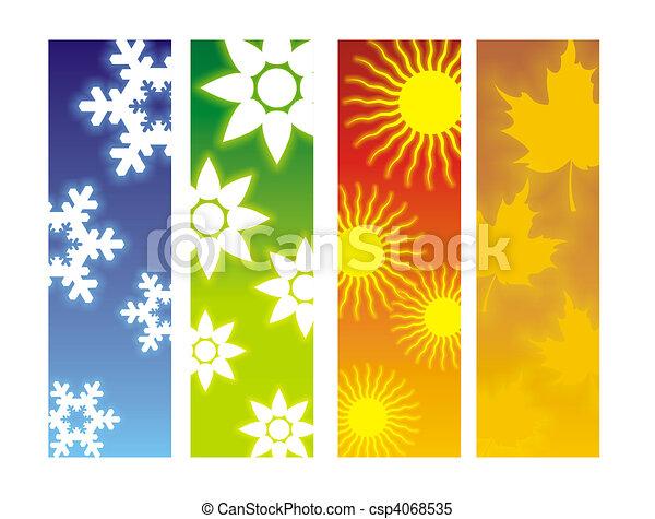 quatre saisons - csp4068535