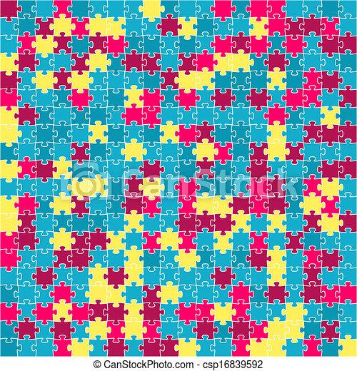 quebra-cabeça, fundo - csp16839592
