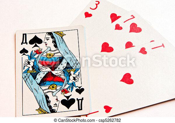 queen of spades - csp5262782