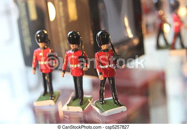 Queens Guard Mini Toy Soldier - csp5257827