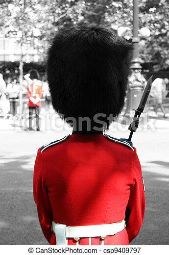 Queen's Soldier - csp9409797