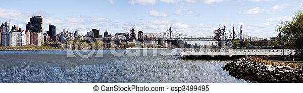 Queensboro Bridge - New York City - csp3499495