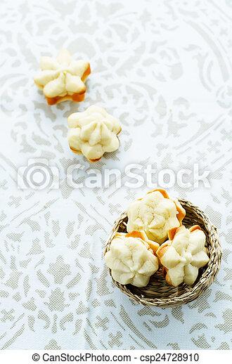 queijo, biscoitos, sable, creme - csp24728910
