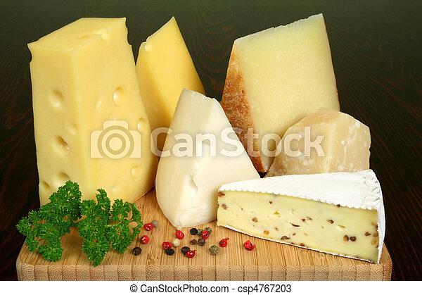 queijo, variedade - csp4767203