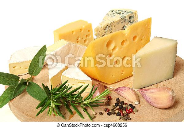 queijo, variedade - csp4608256