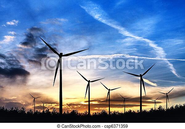 quelle, alternative energie - csp6371359