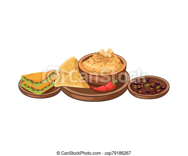 Clipart: nachos   Nachos icon flat, cartoon style isolated on white  background. Vector illustration, clip art. Traditional Mexican food. —  Stock Vector © Amelie1 #146696579