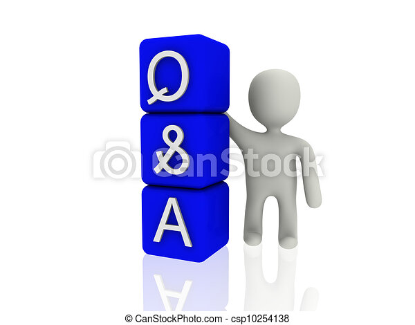 question and answer - csp10254138