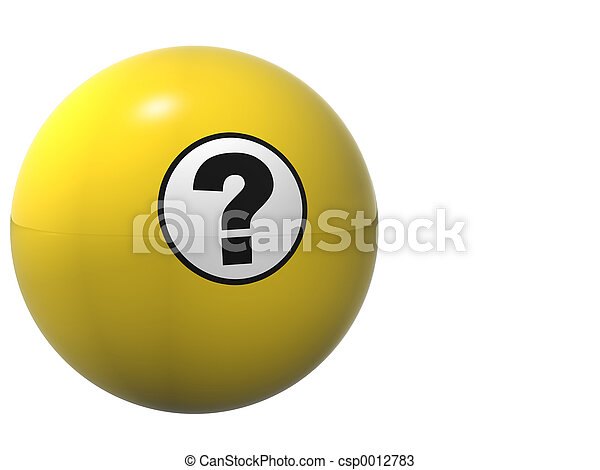 Question Ball - csp0012783