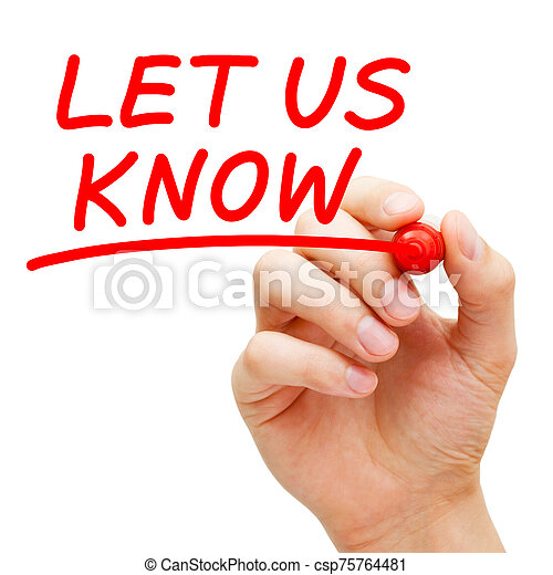 Question Let Us Know Feedback Concept - csp75764481