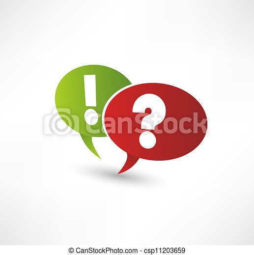 Question Mark And Exclamation Point - csp11203659