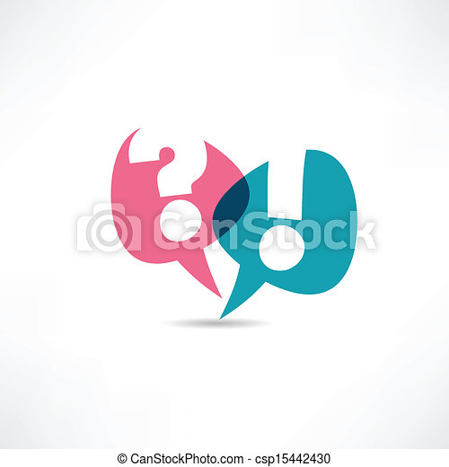 Question mark and exclamation point icon - csp15442430