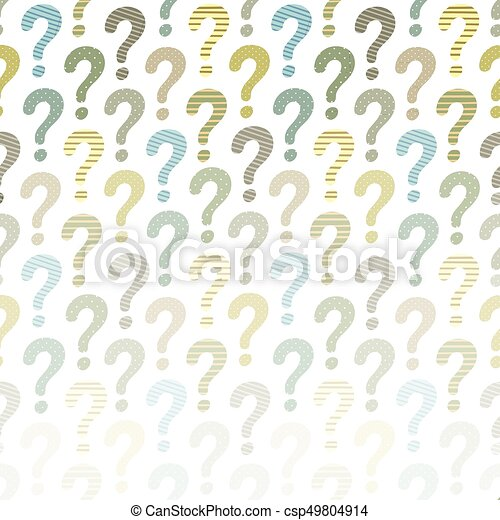 question mark background vector abstract template for your
