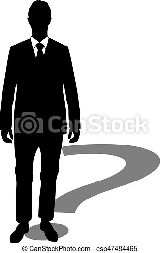 question mark businessman clip art vector search drawings and rh canstockphoto com