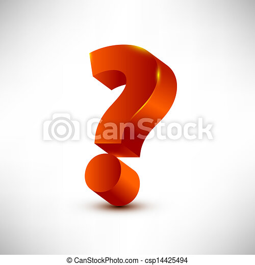 question mark - csp14425494