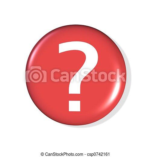 question mark icon - csp0742161