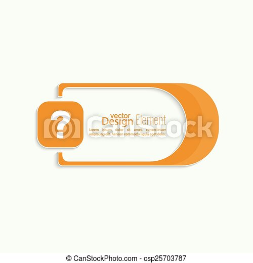 Question mark icon - csp25703787