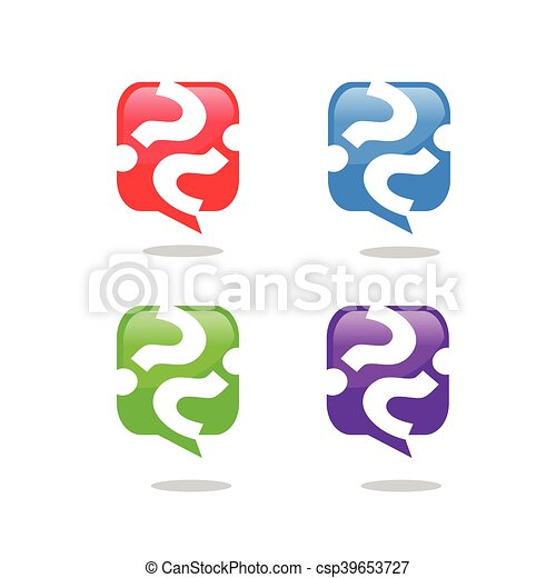 Question mark icon - csp39653727