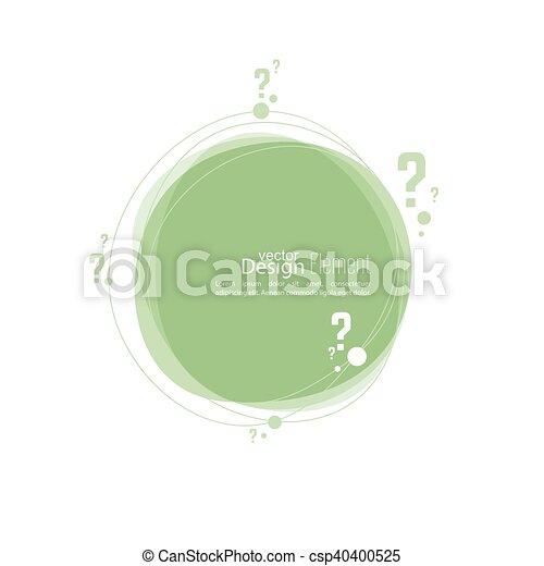 Question mark icon. - csp40400525