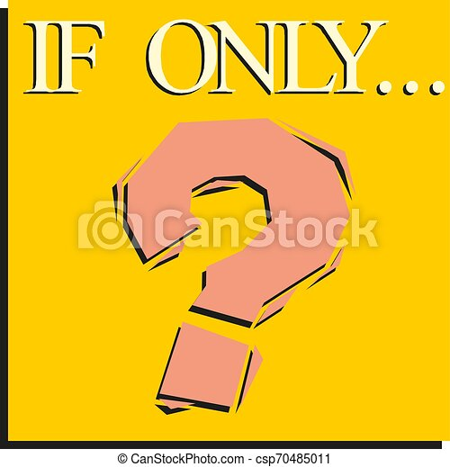 Question mark icon. sign on a yellow background. vector - csp70485011