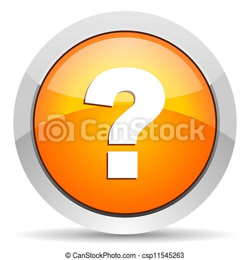 question mark icon - csp11545263