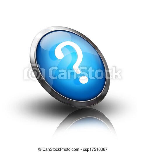 Question mark icon - csp17510367