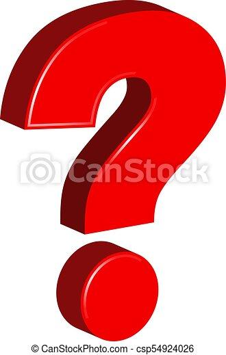 Question Mark - csp54924026