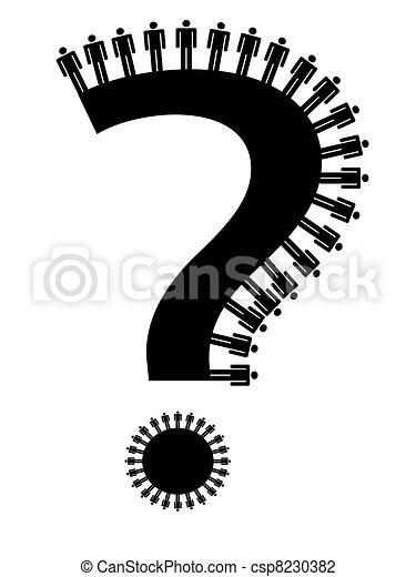 question mark - csp8230382