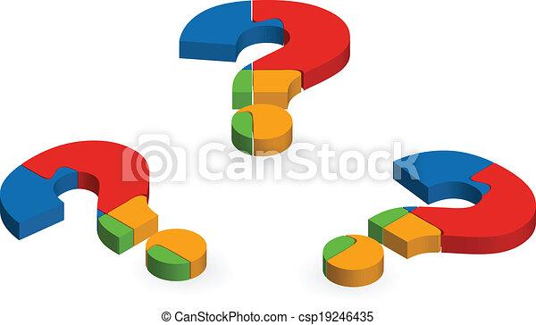 Question mark puzzle - csp19246435