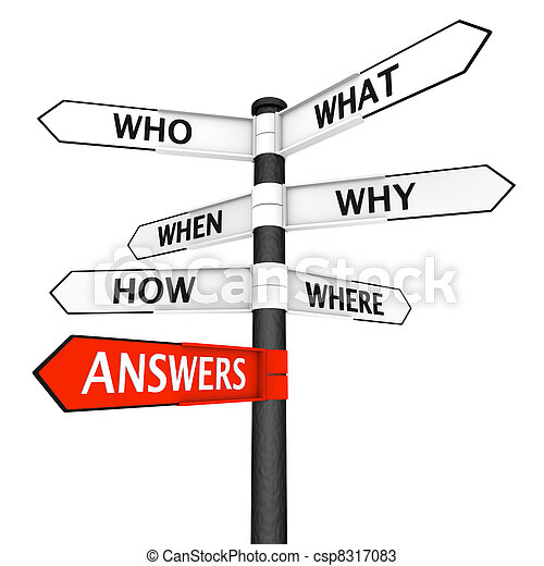 Questions and Answers Signpost - csp8317083